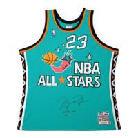 MICHAEL JORDAN Autographed 1996 NBA All Star M&N Authentic Jersey UDA LE 96