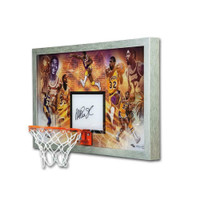 "MAGIC JOHNSON Autographed Los Angeles Lakers ""Champion"" Acrylic Backboard Display UDA LE 32"