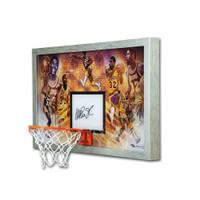 "MAGIC JOHNSON Autographed Los Angeles Lakers ""Champion"" Acrylic Backboard Display UDA LE 32"
