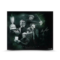 "GARY PLAYER Autographed ""Black Night"" 24 x 20 Photograph UDA LE 50"