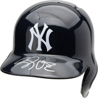 LUKE VOIT Autographed New York Yankees Batting Helmet FANATICS