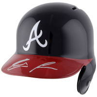 RONALD ACUNA Jr. Autographed Atlanta Braves Batting Helmet FANATICS
