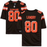 JARVIS LANDRY Autographed Cleveland Browns Nike Brown Game Jersey FANATICS