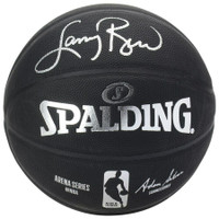 LARRY BIRD Autographed Boston Celtics Black Basketball FANATICS