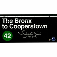 "MARIANO RIVERA New York Yankees Signed 'Bronx to Cooperstown' ""HOF 2019"" 6"" x 12"" Photo STEINER"