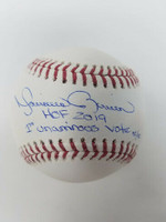 "MARIANO RIVERA New York Yankees Signed ""HOF 2019"" ""1st Unanimous Vote"" Baseball STEINER LE 42/42"