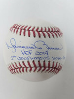 "MARIANO RIVERA New York Yankees Signed ""HOF 2019"" & ""1st Unanimous Vote"" Baseball STEINER LE 42"