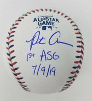 """PETE ALONSO Autographed New York Mets """"1st ASG 7/9/19"""" Official 2019 All Star Ball FANATICS"""