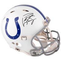 PEYTON MANNING Signed Indianapolis Colts Authentic Revolution Helmet FANATICS