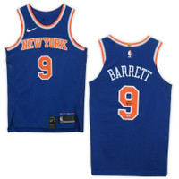 R.J. BARRETT Autographed New York Knicks Authentic Nike Jersey FANATICS