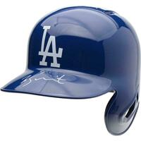 WILL SMITH Autographed Los Angeles Dodgers Batting Helmet FANATICS