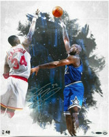 "SHAQUILLE O'NEAL 'SHAQ' Orlando Magic Signed ""Baby Hook"" 16 x 20 Photo UDA LE 32/32"