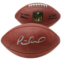 PATRICK MAHOMES Autographed Kansas City Chiefs NFL Official Football FANATICS