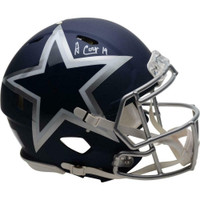 AMARI COOPER Autographed Dallas Cowboys Speed Amp Authentic Helmet FANATICS