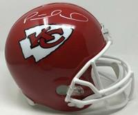 PATRICK MAHOMES Autographed Kansas City Chiefs Helmet FANATICS