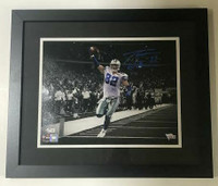 "JASON WITTEN Autographed Dallas Cowboys 11"" x 14"" Framed Spotlight Photograph FANATICS"