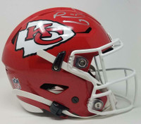 PATRICK MAHOMES Signed Kansas City Chiefs Speed Flex Authentic Helmet FANATICS