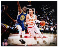 "TRAE YOUNG Autographed Atlanta Hawks ""Next Generation"" 16x20 Photograph PANINI LE 111"
