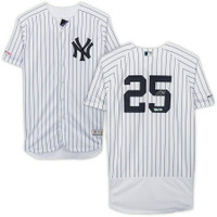 GLEYBER TORRES Autographed New York Yankees Authentic Jersey FANATICS