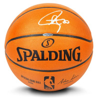 STEPHEN CURRY Autographed Authentic Spalding Basketball UDA