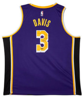 ANTHONY DAVIS Autographed Los  Angeles Lakers Purple Swingman Jersey UDA