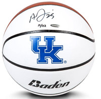 ANTHONY DAVIS Autographed Baden University of Kentucky Basketball Limited to 112 UDA