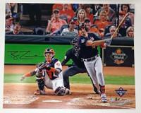 "RYAN ZIMMERMAN Washington Nationals Autographed 16"" x 20"" 2019 World Series Champions Game 1 Home Run Photograph FANATICS"