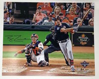 "RYAN ZIMMERMAN Washington Nationals Autographed 16"" x 20"" 2019 World Series Champions Game 1 Home Run Photograph FANATICS"