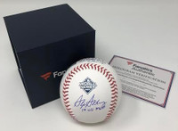 "STEPHEN STRASBURG Washington Nationals Autographed 2019 World Series Champions Baseball with ""19 WS MVP"" Inscription FANATICS"