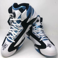 SHAQUILLE O'NEAL Dual Autographed Orlando Magic Rookie Size 22 Shoes FANATICS