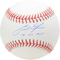"CHRISTIAN YELICH Autographed Milwaukee Brewers ""18 NL MVP"" Baseball FANATICS"
