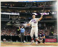 "PETE ALONSO Autographed NY Mets ""19 HR Derby Champ"" 16 x 20 Photograph FANATICS"