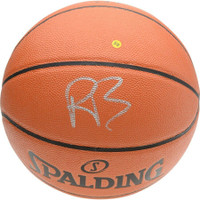 R.J. BARRETT Autographed New York Knicks Spalding Basketball FANATICS