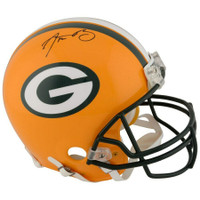 AARON RODGERS Autographed Green Bay Packers Proline Authentic Helmet FANATICS