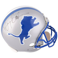 BARRY SANDERS Autographed Detroit Lions Proline Helmet FANATICS