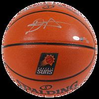 DEANDRE AYTON Autographed Phoenix Suns Logo Basketball GDL LE 22/50