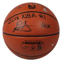 DEANDRE AYTON Phoenix Suns Autographed 2018 NBA #1 Pick Basketball GDL LE 22/22