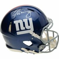 ELI MANNING Autographed New York Giants Speed Authentic Helmet FANATICS