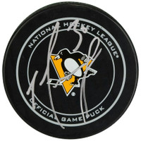 MATT MURRAY Autographed Pittsburgh Penguins Official Game Puck FANATICS