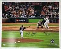 "MAX SCHERZER Autographed Nationals ""1st WS Win"" 16"" x 20"" Photograph FANATICS"