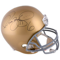 JEROME BETTIS Autographed Notre Dame Fighting Irish Full Size Helmet FANATICS
