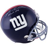 "FRAN TARKENTON Autographed ""HOF 86"" NY Giants Full Size Helmet FANATICS"