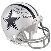 EZEKIEL ELLIOTT Autographed Dallas Cowboys Mini Helmet FANATICS