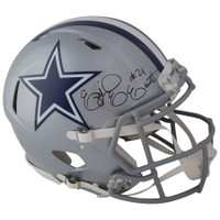 EZEKIEL ELLIOTT Autographed Dallas Cowboys Speed Authentic Helmet FANATICS