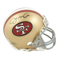 JOE MONTANA Autographed San Francisco 49ers Mini Helmet FANATICS
