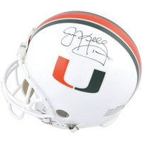 JIM KELLY Autographed Miami Hurricanes Proline Authentic Helmet FANATICS