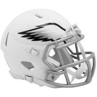 Philadelphia Eagles NFL Riddell Flat White Matte Revolution Speed Mini Helmet