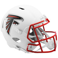 Atlanta Falcons NFL Riddell Flat White Matte Revolution Speed Replica Helmet