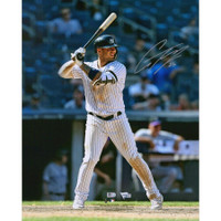 "GLEYBER TORRES Autographed New York Yankees Hitting 16"" x 20"" Photograph FANATICS"