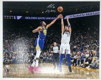 "LUKA DONCIC Dallas Mavericks Autographed ""19 ROY"" 16 x 20 Photograph FANATICS"